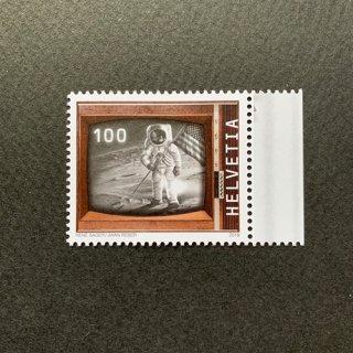 スイスの切手・月面着陸50年・2019