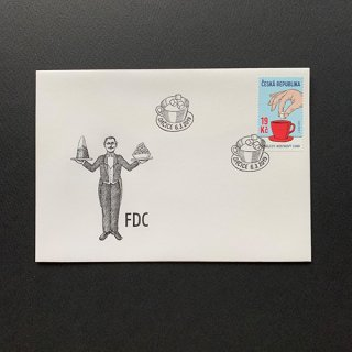 チェコのFDC・角砂糖・2019