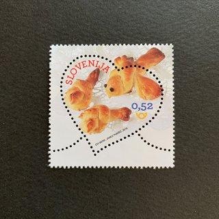 スロベニアの切手・ラブ・2019