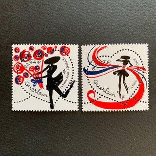 フランスの切手・バレンタイン・ゲラン・2020(2)