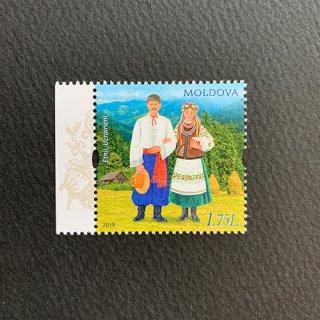 モルドバの切手・民族・2019