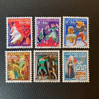 ルクセンブルグの切手・おとぎ話・1965(6)