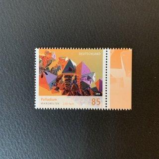 ドイツの切手・ミクロの世界・パラジウム・2019