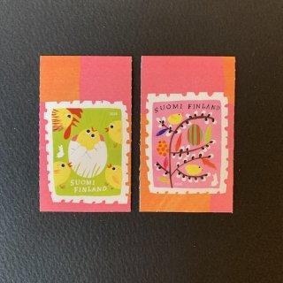 フィンランドの切手・イースター・2020(2)セルフ糊