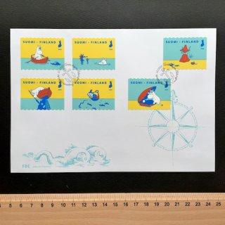 フィンランドの切手・ムーミン・FDC・2020