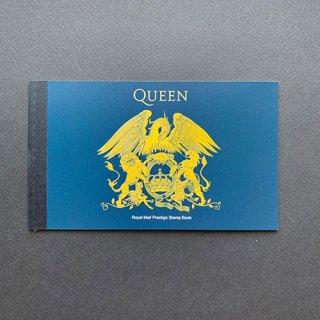 イギリスの切手・クイーン(音楽の巨人4次)ブックレット・2020