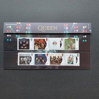 イギリスの切手・クイーン(音楽の巨人4次)プレゼンテーションパック・2020