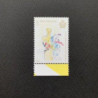 サンマリノの切手・フェデリコ・フェリーニ誕生100年・2020