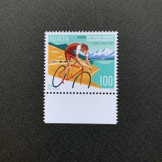 スイスの切手・UCIロード世界選手権・2020