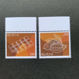 スイスの切手・チョコレート・2020(2)