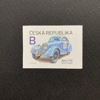 チェコの切手・レーシングカー・2020(セルフ糊)
