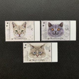 スロベニアの切手・猫・2020(3)