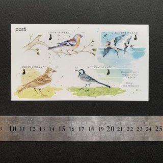 フィンランドの切手・春の歌・小型シート・2020(セルフ糊)
