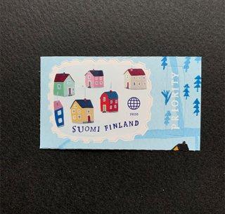 フィンランドの切手・ヴィレッジにようこそ・2020・セルフ糊
