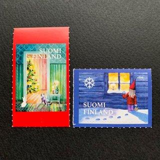 フィンランドの切手・クリスマス・2020(2)セルフ糊