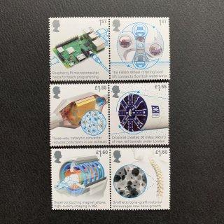 イギリスの切手・工学技術・2019(6)