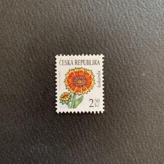 チェコの切手・コケードの花・2007