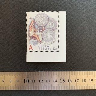 チェコの切手・ターラー銀貨500年・2020