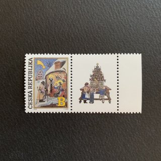チェコの切手・クリスマス(ヨゼフ・ラダ)2020