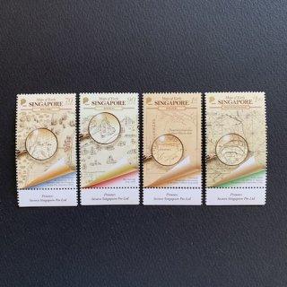 シンガポールの切手・古地図・2020(4)