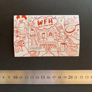 シンガポールの切手・習慣・小型シート・2020