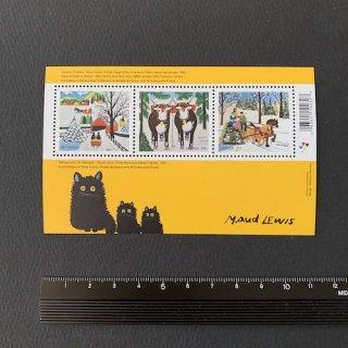 カナダの切手・クリスマス・小型シート・2020