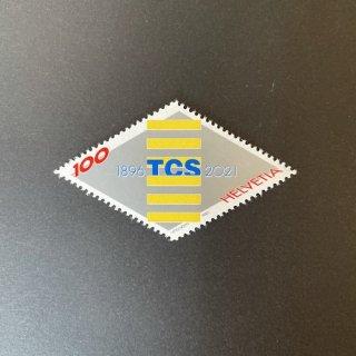 スイスの切手・TCS125年・2021