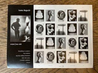 USAの切手・イサム・ノグチ・2004・セルフ糊