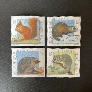 ベルギーの切手・動物・1992(4)