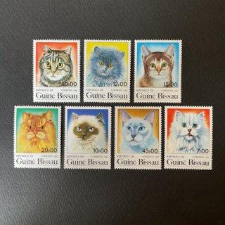 ギニアビサウの切手・ネコ・1985(7)