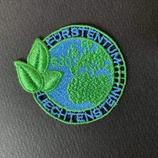 リヒテンシュタインの切手・刺繍・PETリサイクル・2020