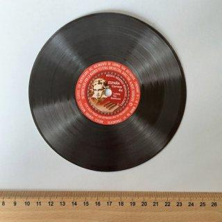 スペインの切手・ベートーベン生誕250年・レコード小型シート・2020