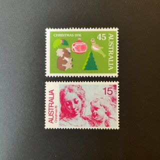 オーストラリアの切手・クリスマス・1976(2)
