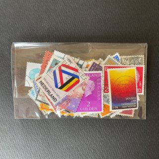 パケット切手・オランダ・約100枚