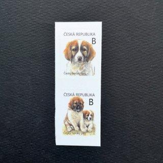 チェコの切手・ボヘミアンマウントドッグ・2021(2)セルフのり