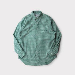 Grooming Shirt  Green-Gingham
