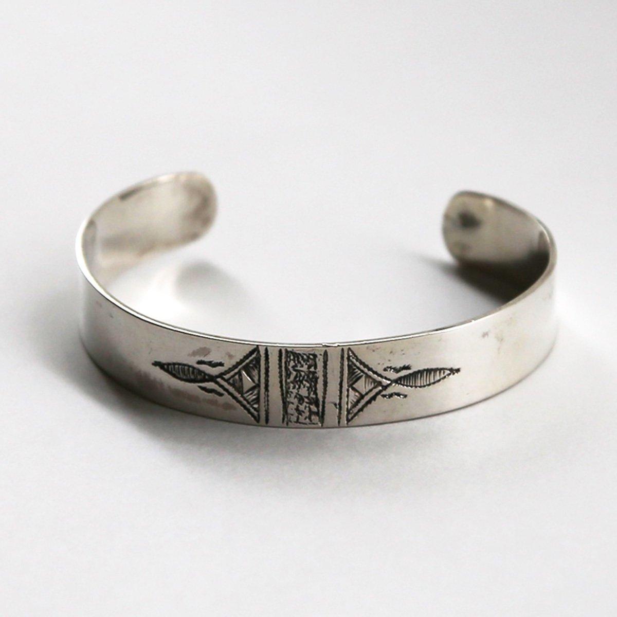Touareg Silver bangle07