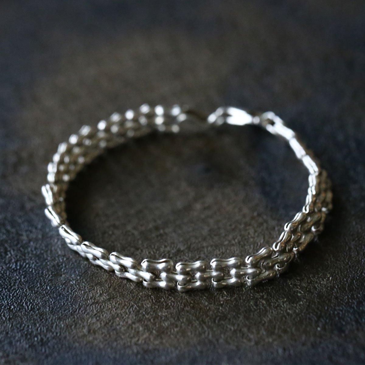 Vintage Silver Chain Bracelet ACH-006