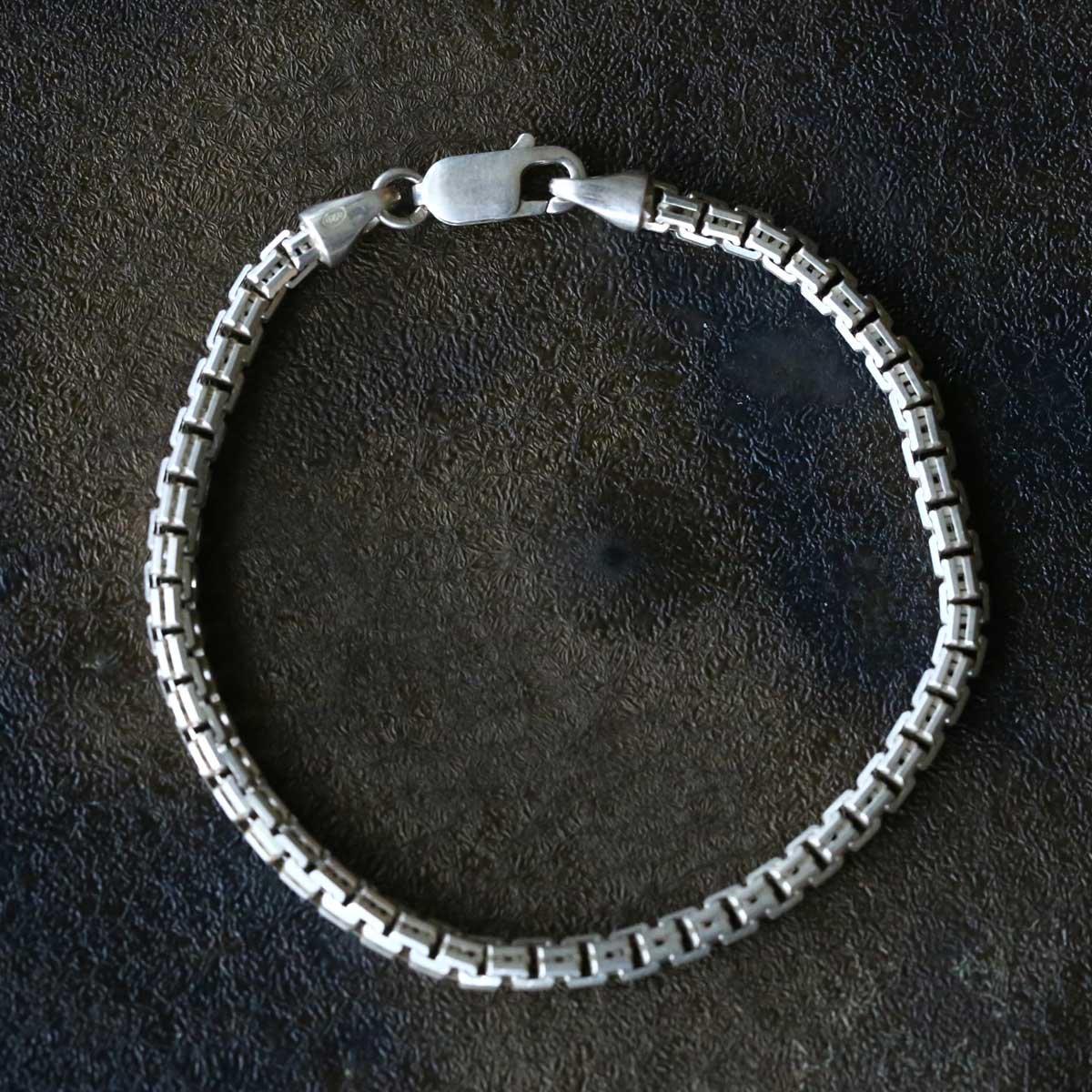 Vintage Silver Chain Bracelet ACH-010