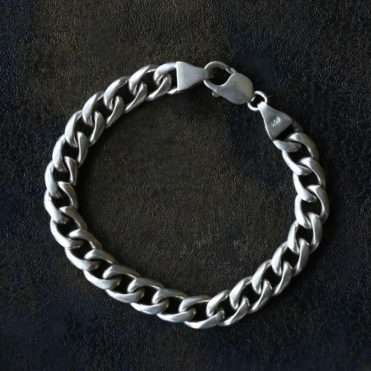 Vintage Silver Chain Bracelet ACH-028