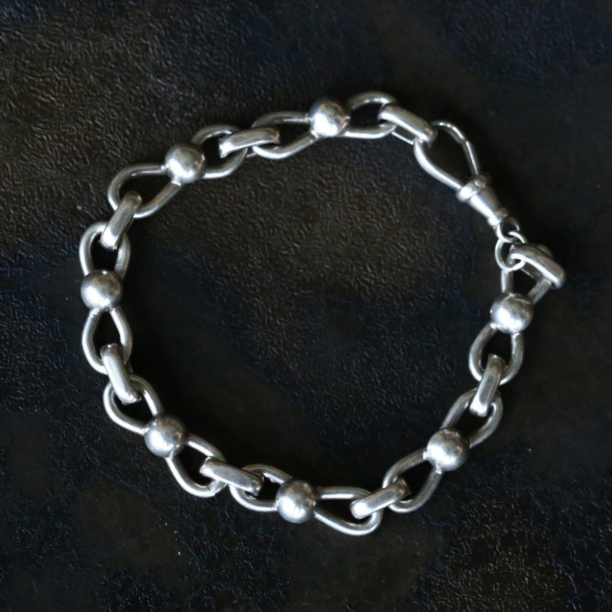 Vintage Silver Chain Bracelet ACH-030