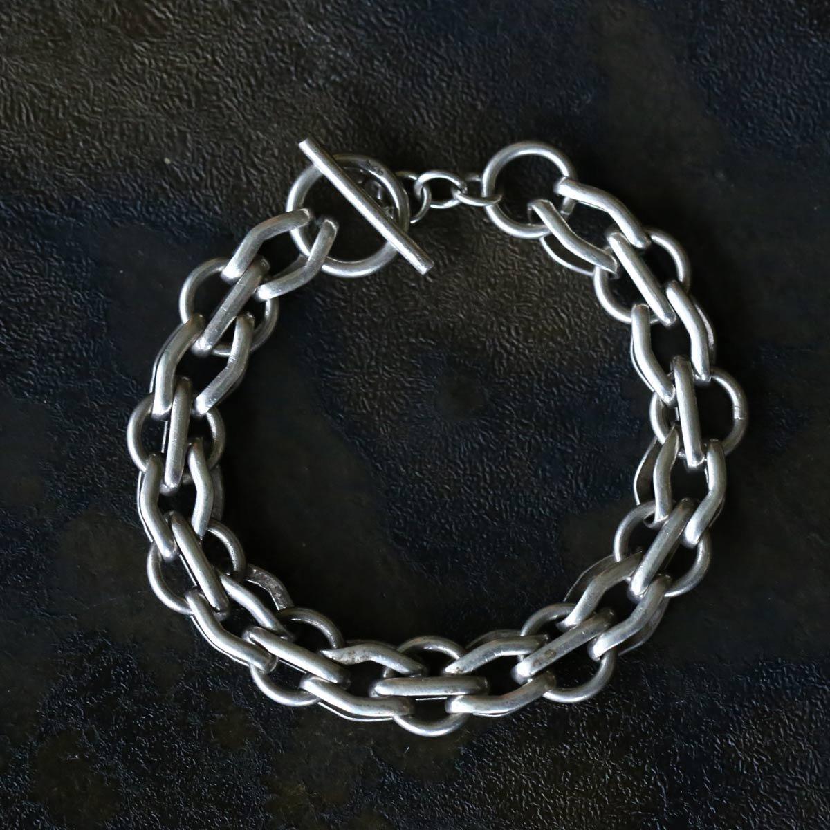 Vintage Silver Chain Bracelet ACH-35