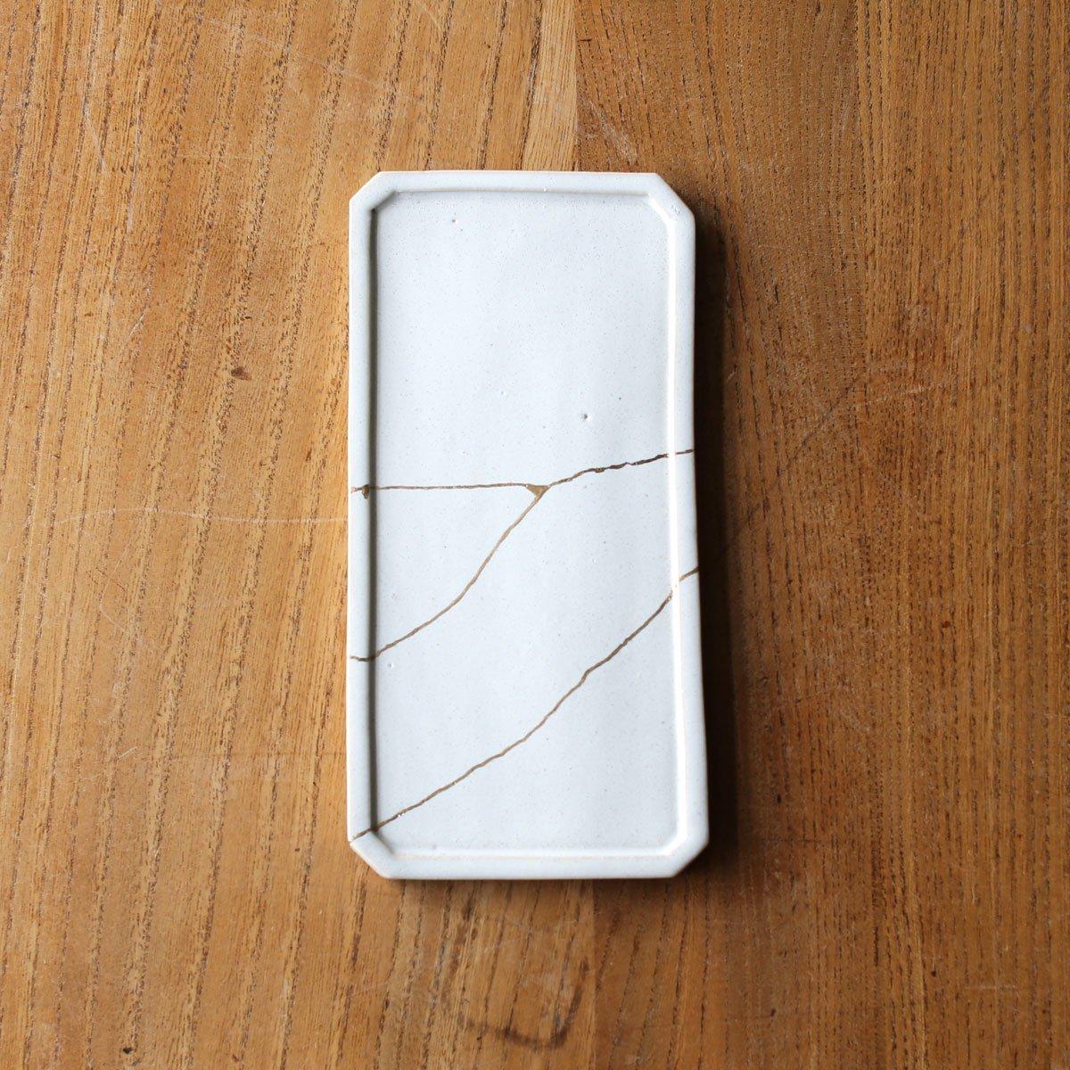 Rectangular plate  /white