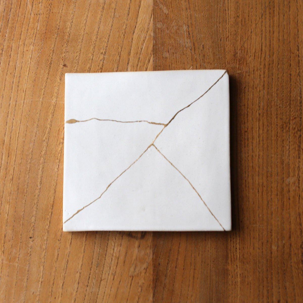 Square plate  /white