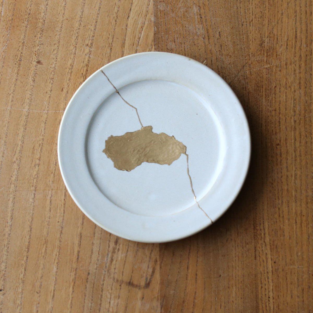 Rim plate small /white