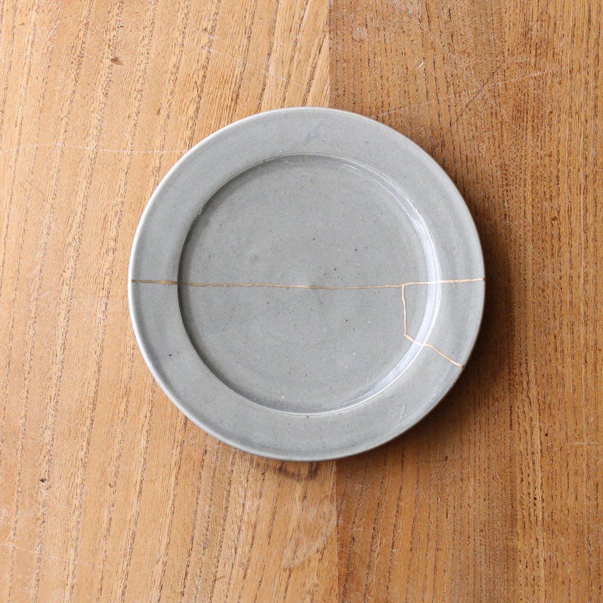 Rim plate small /gray