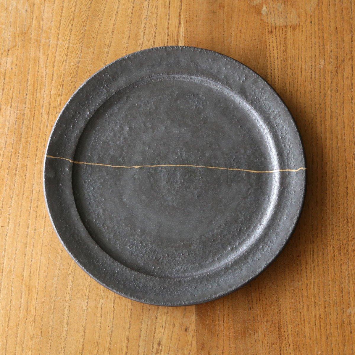 Rim plate large /black