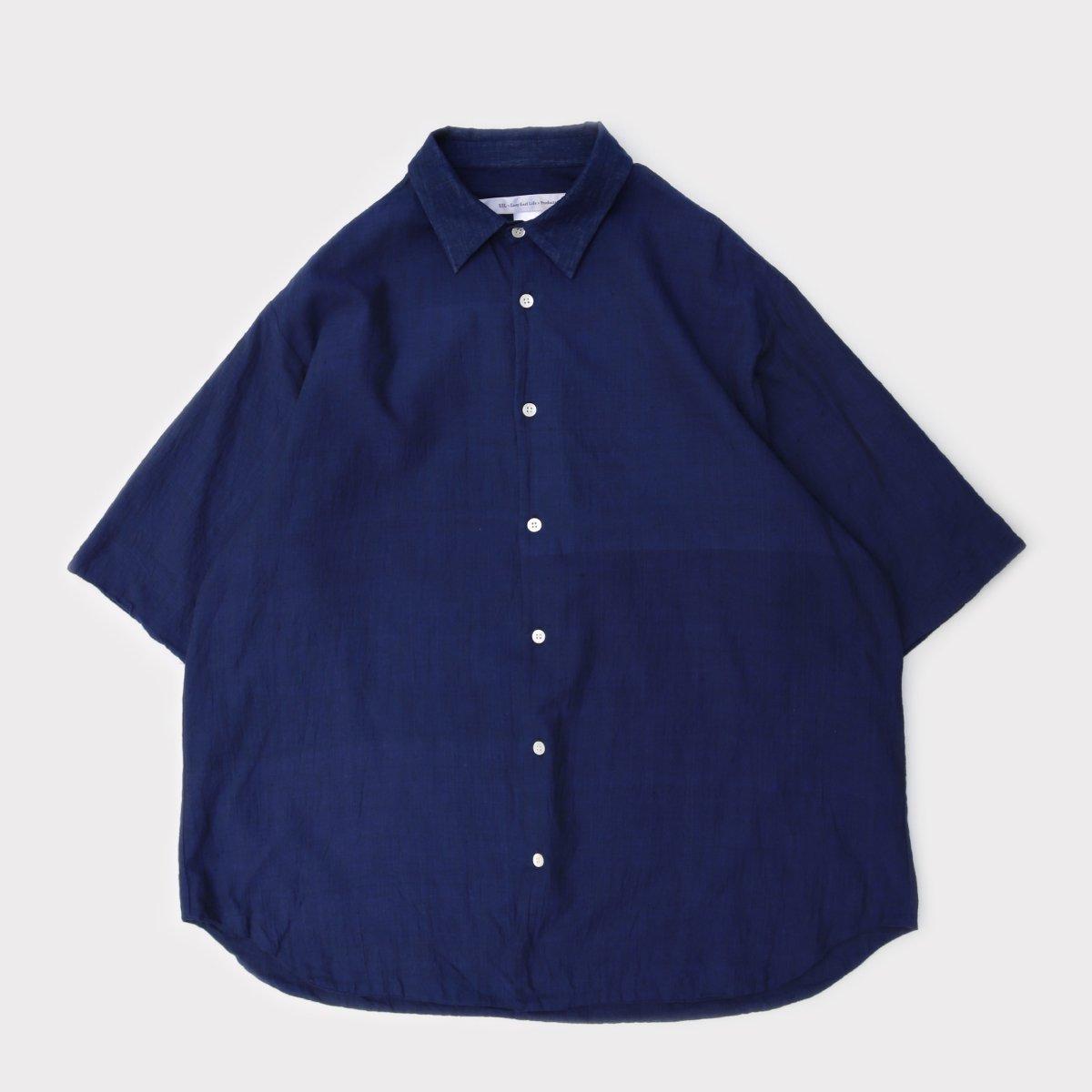Merci Shirt Khadi Ver. Navy