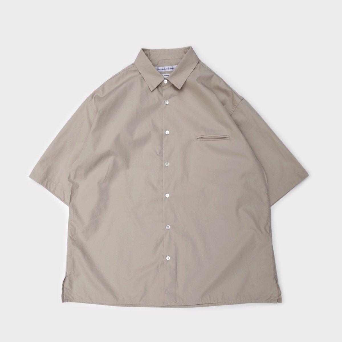 Grooming Shirt S/S  Beige