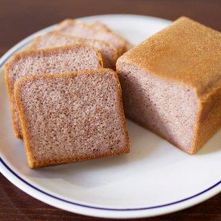 グルテンフリー米粉パン  富山県産 赤米食パン